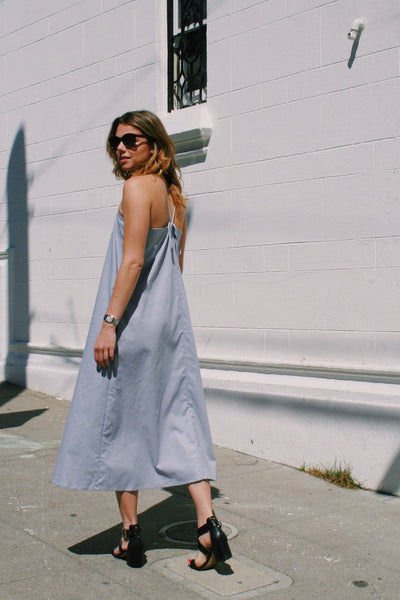 Aura Dress in Flint