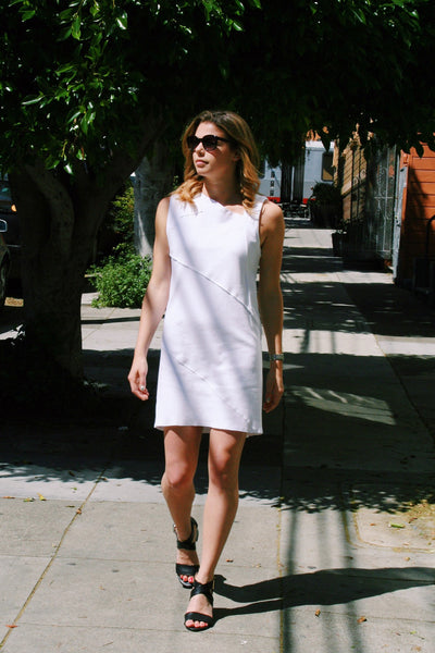 Marc Dress in Arctic White