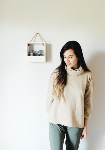 Saint Ann Turtleneck in Camel