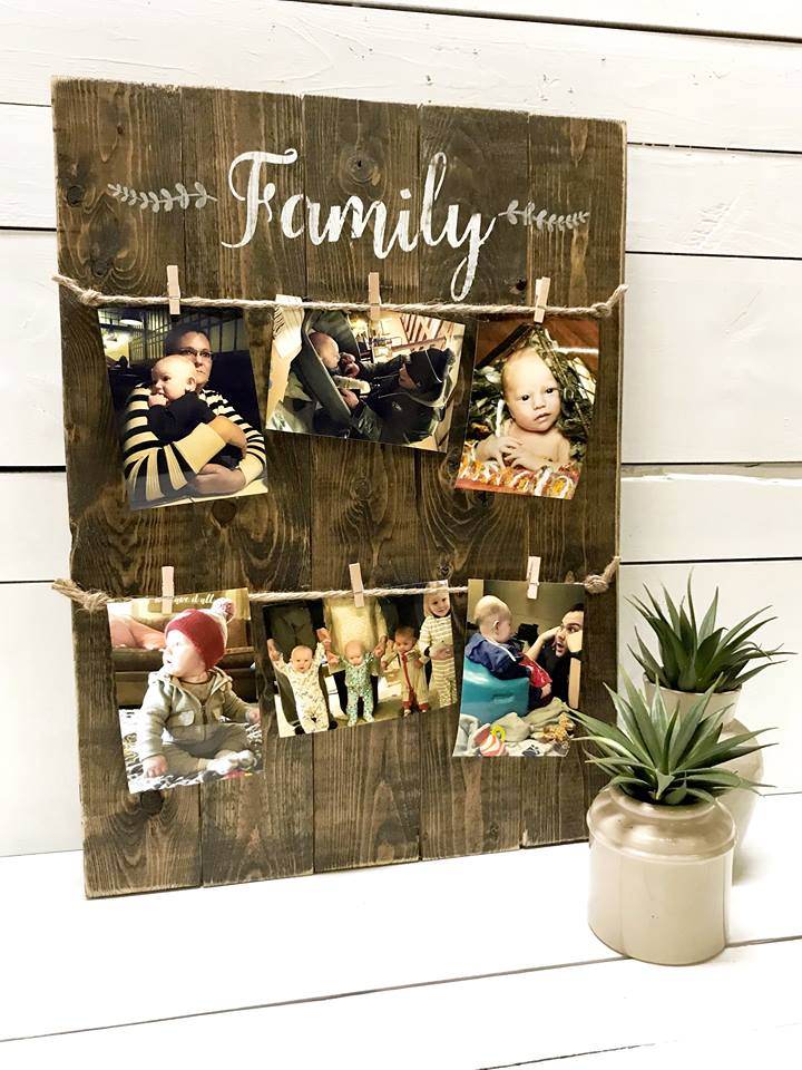 Family Photo Board