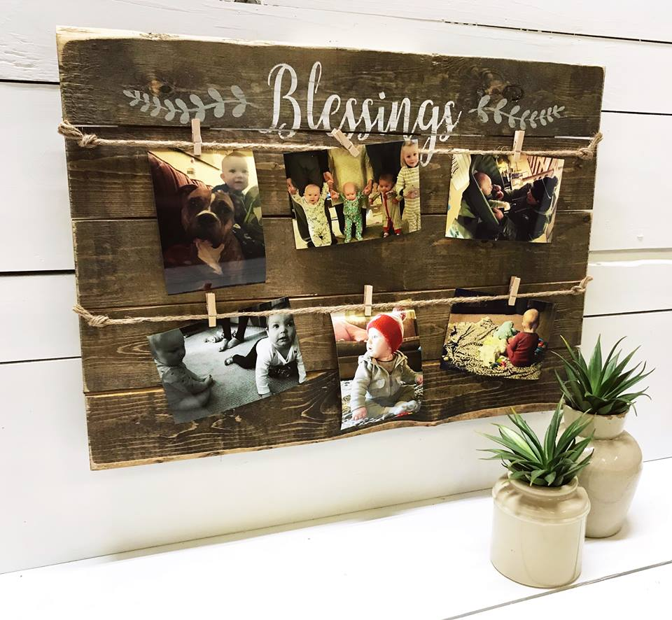 Blessings Photo Board