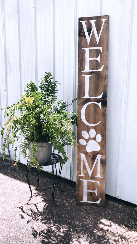 Welcome • Paw Print