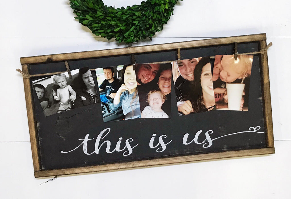 This Is Us • Framed Photo Board