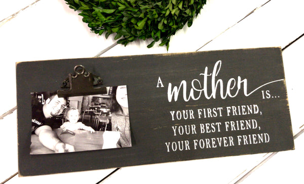 A Mother is • Clip Photo Frame