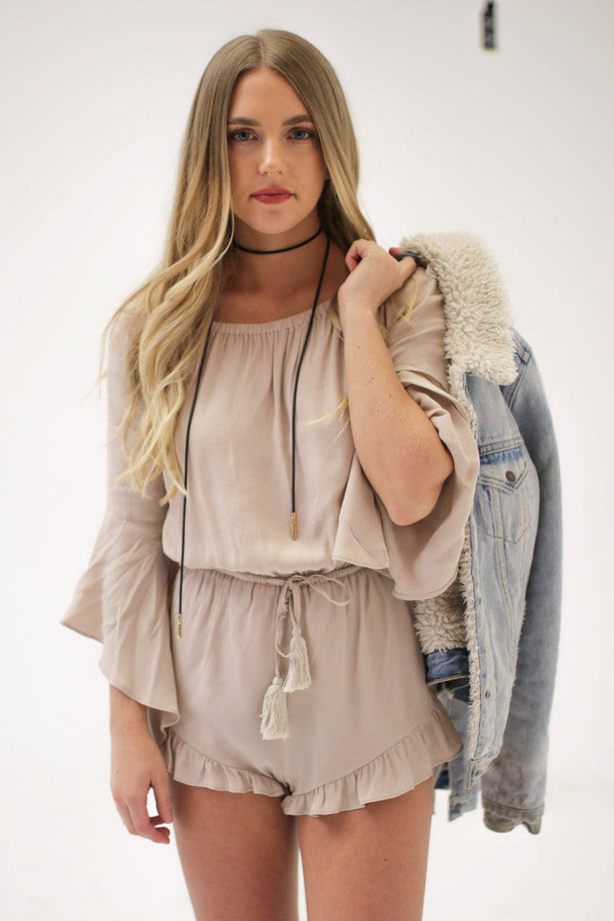 The Shannon Playsuit