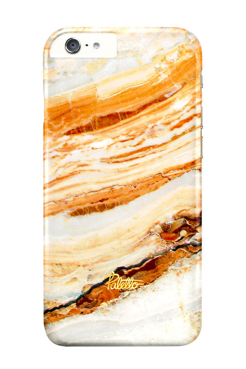 Salmon / iPhone Marble Case - Paletto - 1