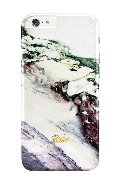 Aubergine / iPhone Marble Case - Paletto - 1