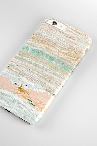 Champagne / iPhone Marble Case