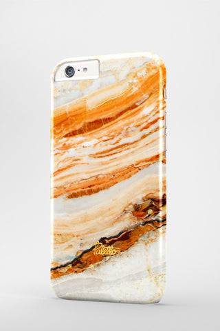 Salmon / iPhone Marble Case