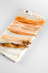 Salmon / iPhone Marble Case - Paletto - 4
