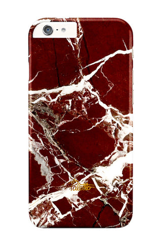 Marsala / iPhone Marble Case - Paletto - 1