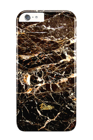 Chocolate / iPhone Marble Case - Paletto - 1