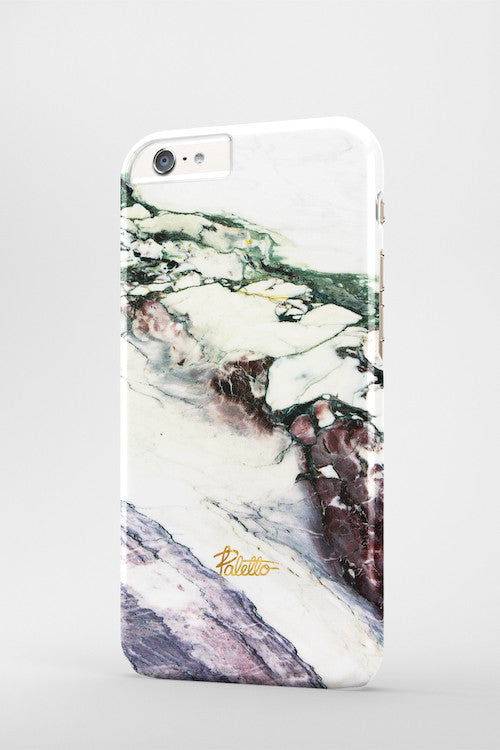 Aubergine / iPhone Marble Case - Paletto - 3
