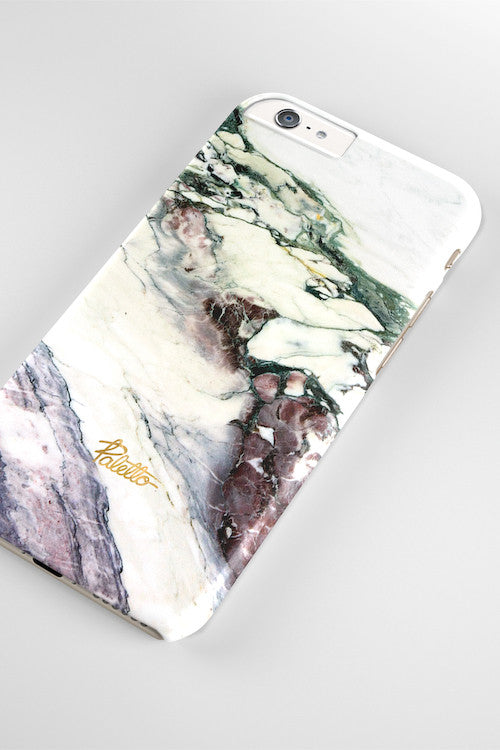 Aubergine / iPhone Marble Case - Paletto - 4