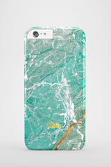 Aqua / iPhone Marble Case - Paletto - 2