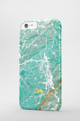 Aqua / iPhone Marble Case - Paletto - 3