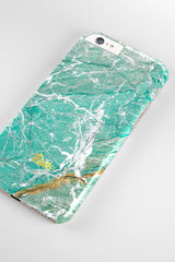 Aqua / iPhone Marble Case - Paletto - 4