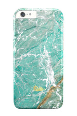 Aqua / iPhone Marble Case - Paletto - 1