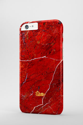 Crimson / iPhone Marble Case