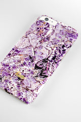 Lilac / iPhone Marble Case - Paletto - 4