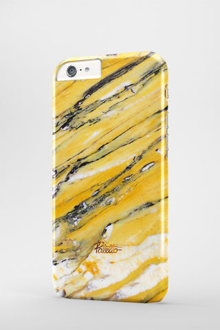 Goldenrod / iPhone Marble Case