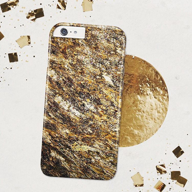 Amber / iPhone Marble Case - Paletto - 5