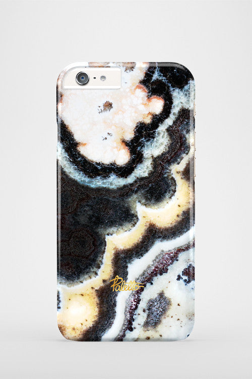 Floral / iPhone Marble Case - Paletto - 2