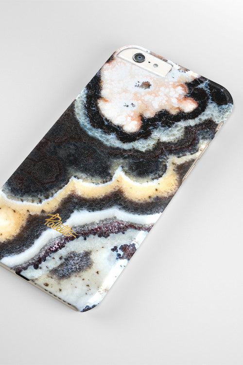 Floral / iPhone Marble Case - Paletto - 4
