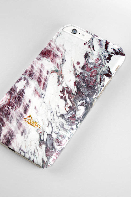 Mauve / iPhone Marble Case - Paletto - 4