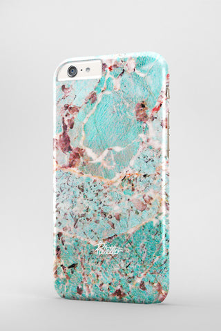 Tropical / iPhone Marble Case