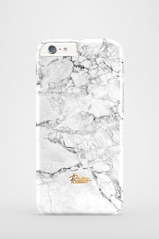 Snow / iPhone Marble Case