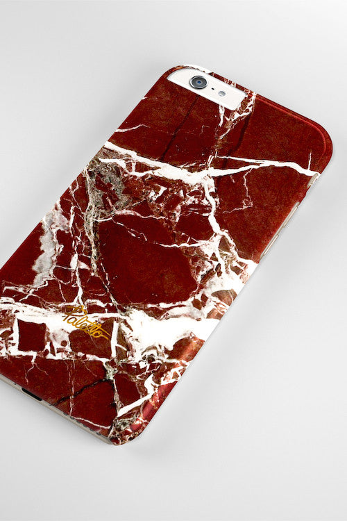 Marsala / iPhone Marble Case - Paletto - 4