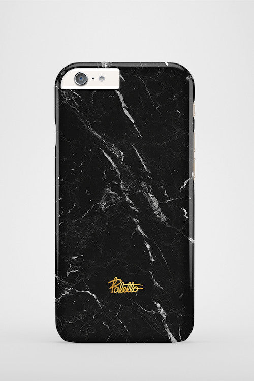 Anthracite / iPhone Marble Case - Paletto - 2
