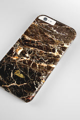 Chocolate / iPhone Marble Case - Paletto - 4