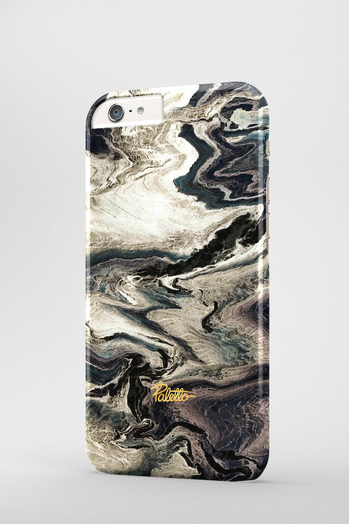 Tobacco / iPhone Marble Case - Paletto - 3