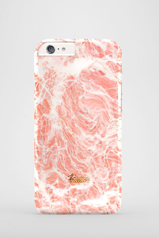 Summer Rose / iPhone Marble Case