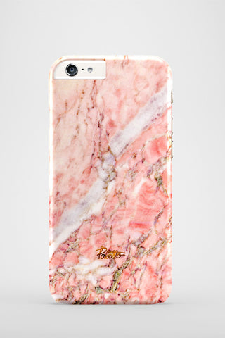 Blush / iPhone Marble Case