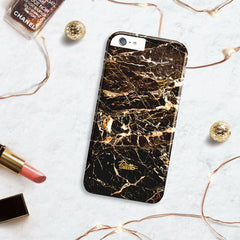 Chocolate / iPhone Marble Case - Paletto - 5