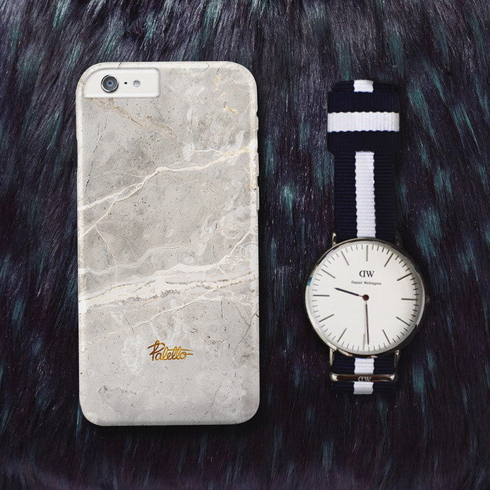 Ash / iPhone Marble Case - Paletto - 5