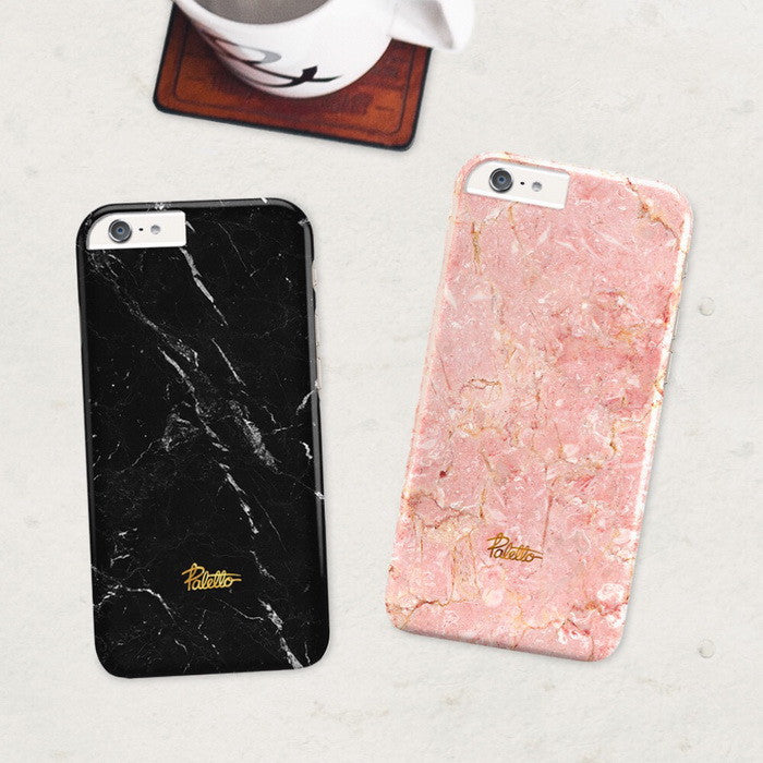 Anthracite / iPhone Marble Case - Paletto - 5