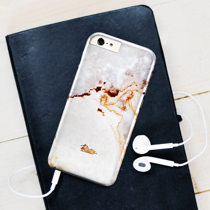 Alabaster / iPhone Marble Case - Paletto - 5