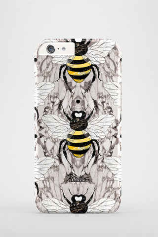 Abeille / iPhone Marble Case