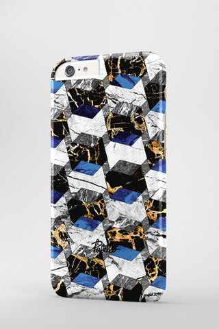Hexa / iPhone Marble Case