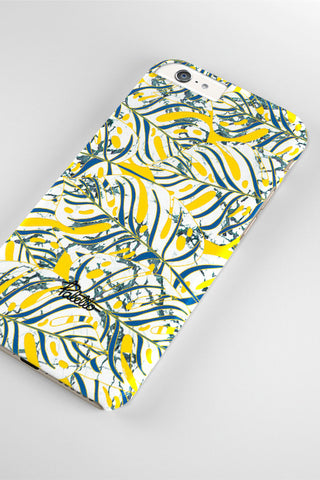 Monstera / iPhone Marble Case