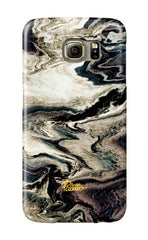 Tobacco / Beautiful Dark Gray Marble Samsung Galaxy case - Paletto Shop