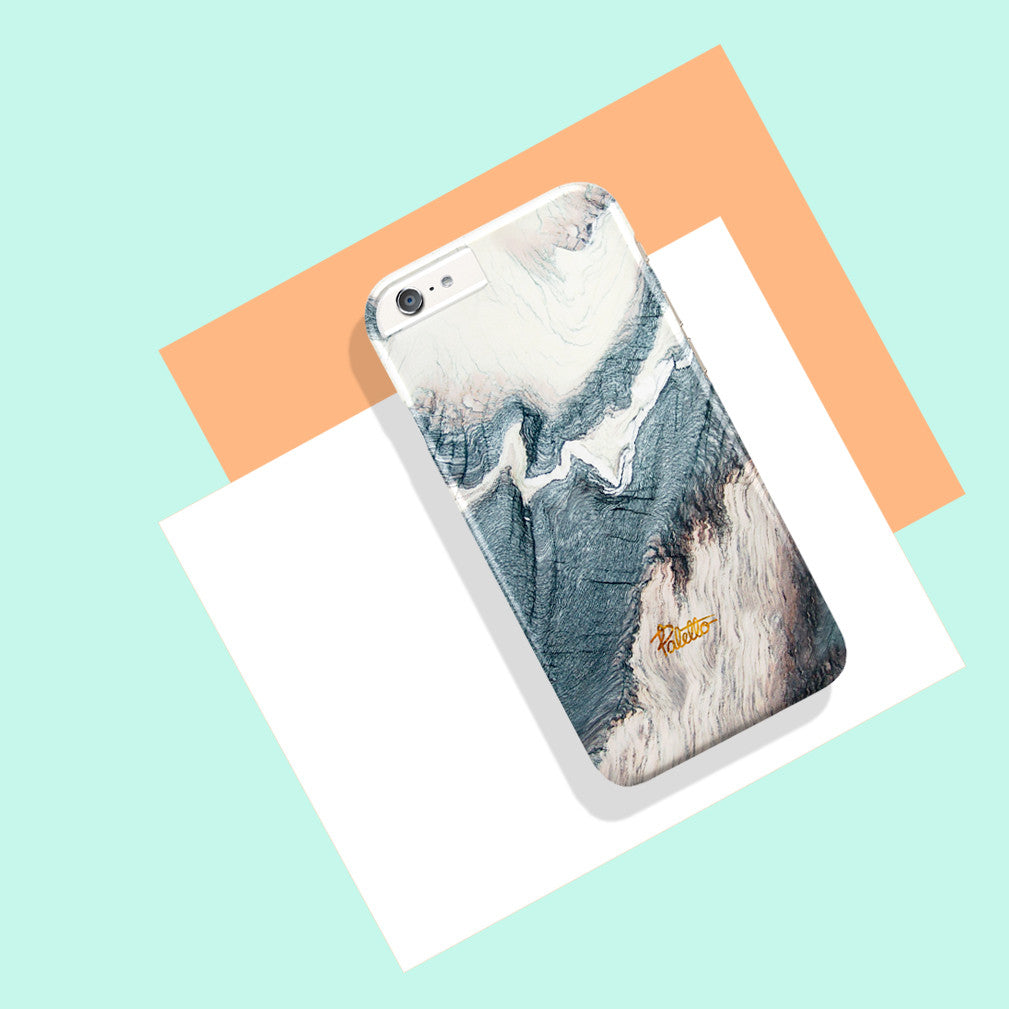 Winter / iPhone Marble Case - Paletto - 5