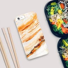 Salmon / iPhone Marble Case - Paletto - 5