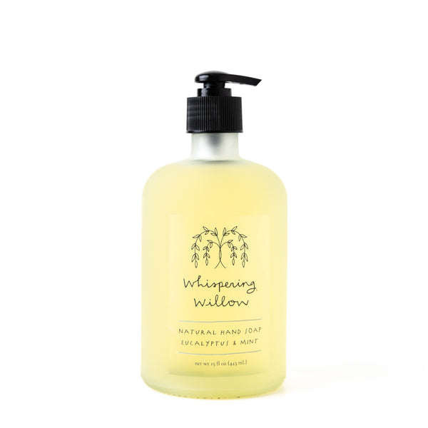 Eucalyptus Mint Hand Soap by Whispering Willow