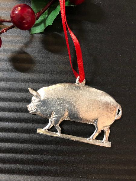 Handmade Pewter Pig by House of Morgan Pewter