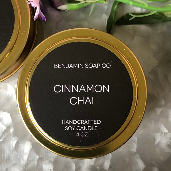 Cinnamon Chai 4 oz. Candle